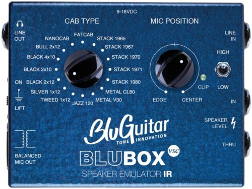 BluBOX Impulse Response Speaker Emulator