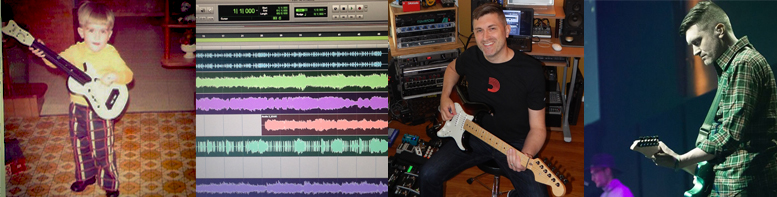 Mark Johnson Guitar Guitarist Phillips Craig and Dean Tracking Tracks Soundtrack Film/TV