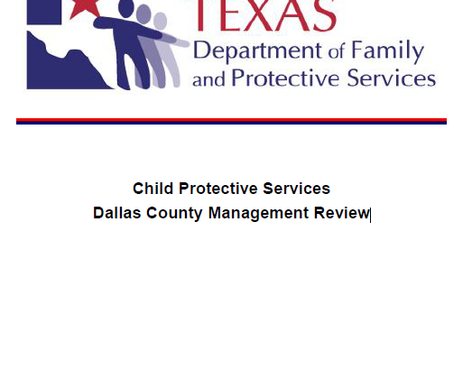North Texas CPS To Fix Broken System