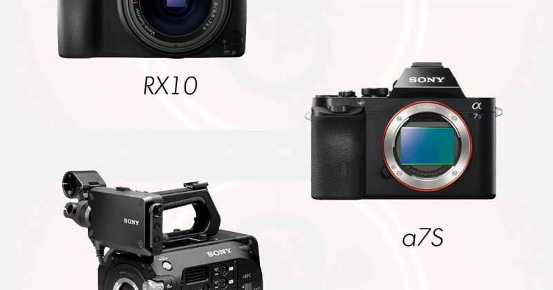 Compact Sony Cameras to Supplement Film Production